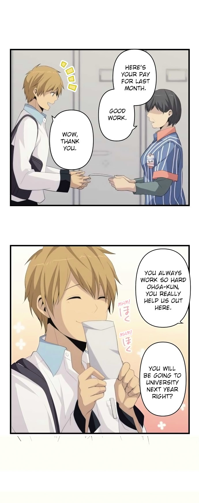 ReLIFE Chapter 158  Online Free Manga Read Image 16