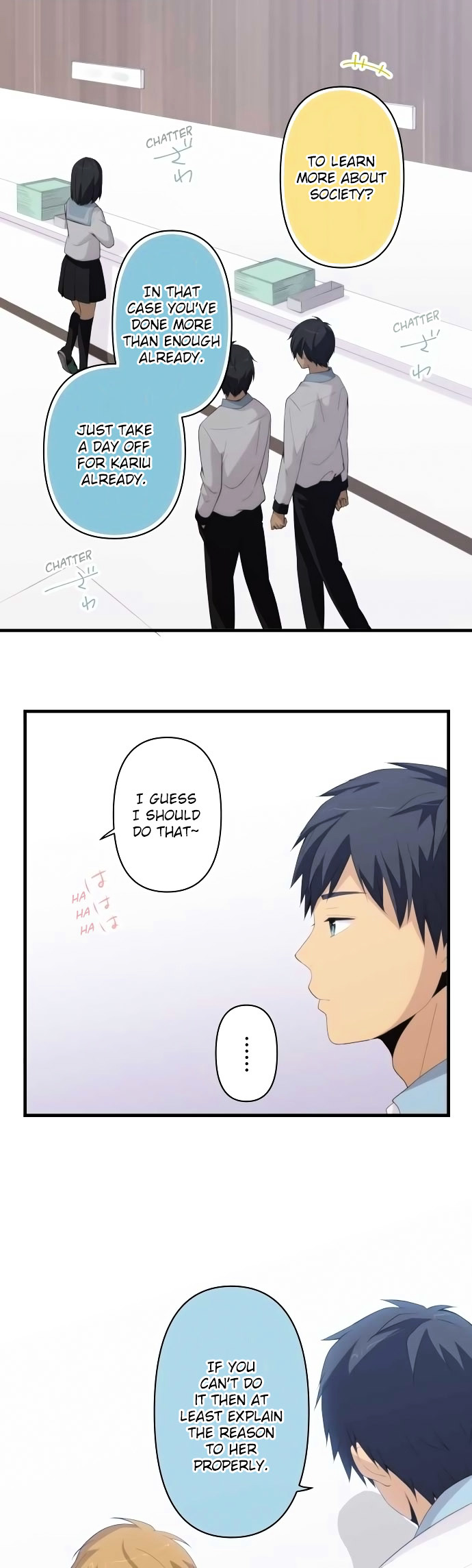 ReLIFE Chapter 158  Online Free Manga Read Image 3