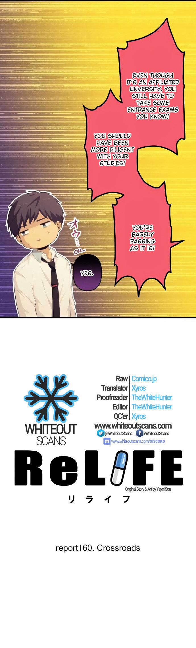 ReLIFE Chapter 160  Online Free Manga Read Image 2