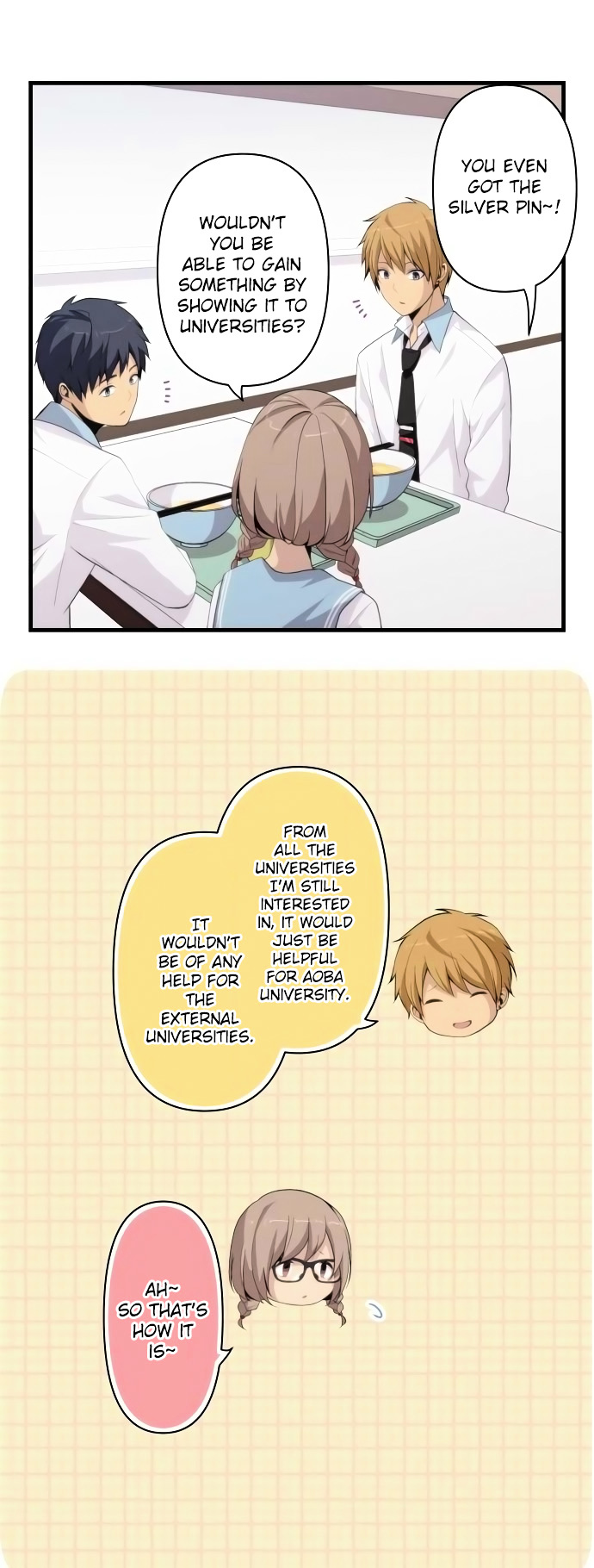 ReLIFE Chapter 161  Online Free Manga Read Image 17