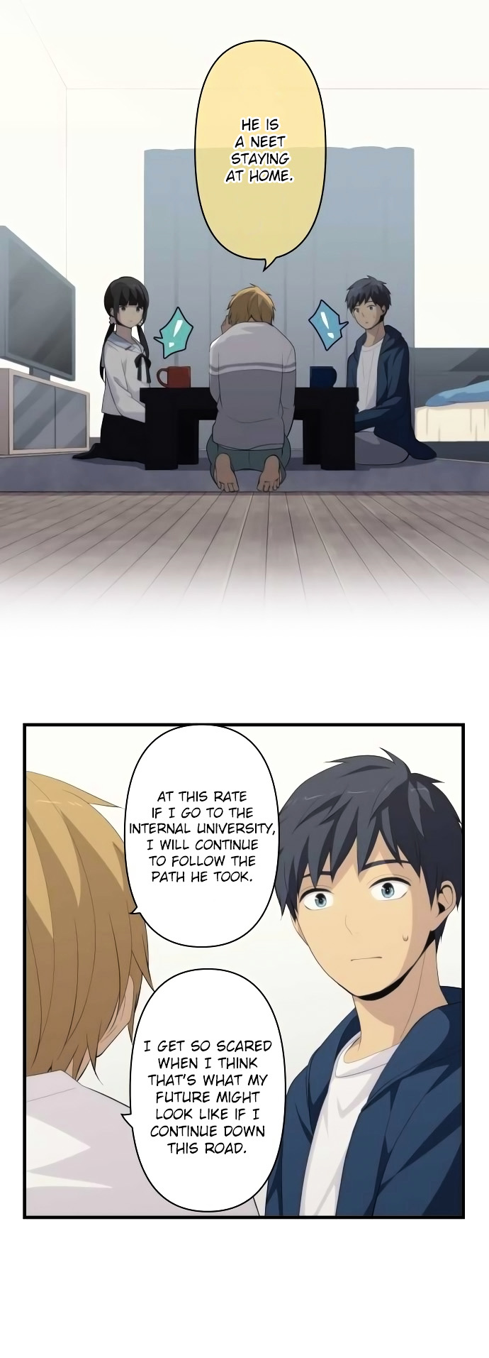 ReLIFE Chapter 168  Online Free Manga Read Image 4