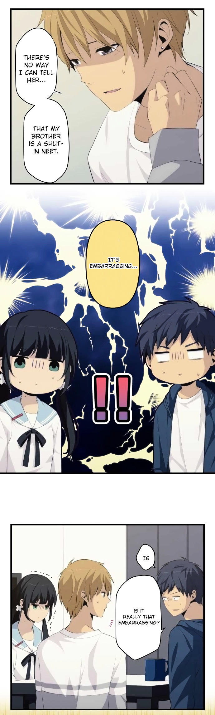 ReLIFE Chapter 168  Online Free Manga Read Image 6