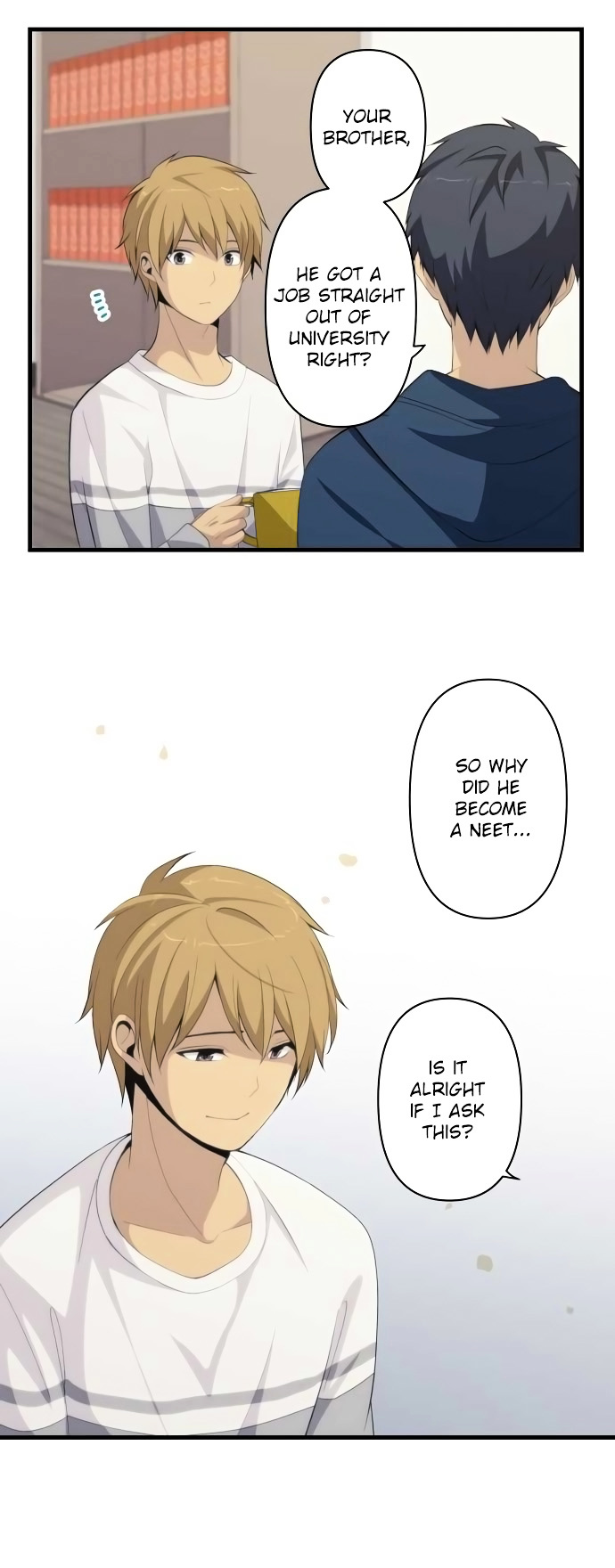 ReLIFE Chapter 168  Online Free Manga Read Image 9