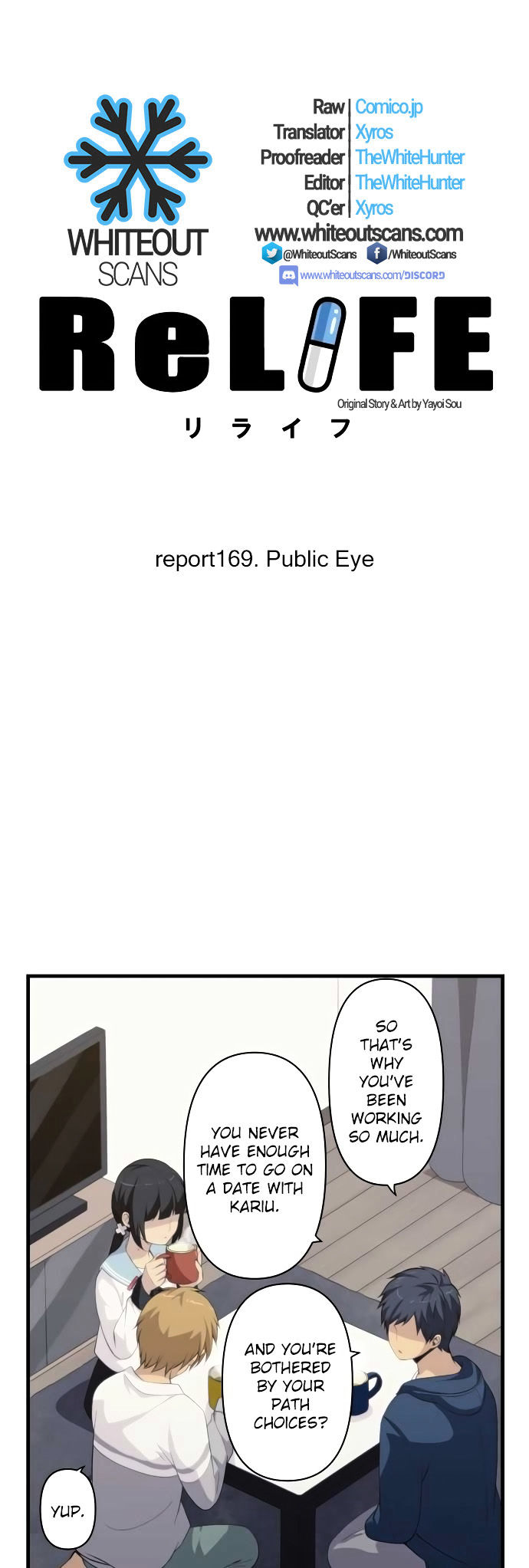ReLIFE Chapter 169  Online Free Manga Read Image 4