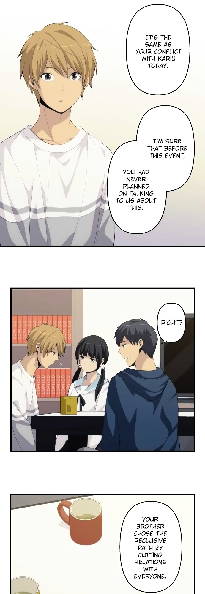 ReLIFE Chapter 170  Online Free Manga Read Image 8
