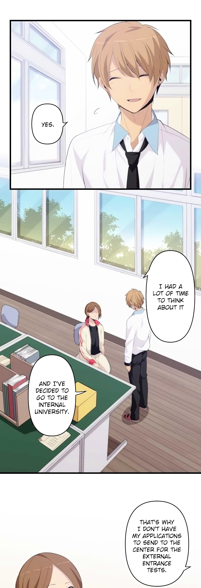 ReLIFE Chapter 172  Online Free Manga Read Image 13