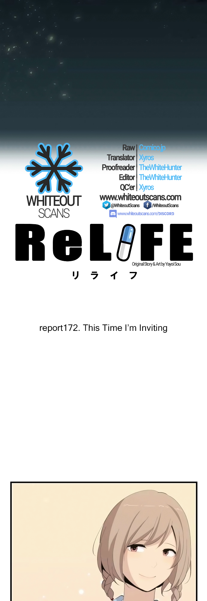 ReLIFE Chapter 172  Online Free Manga Read Image 2