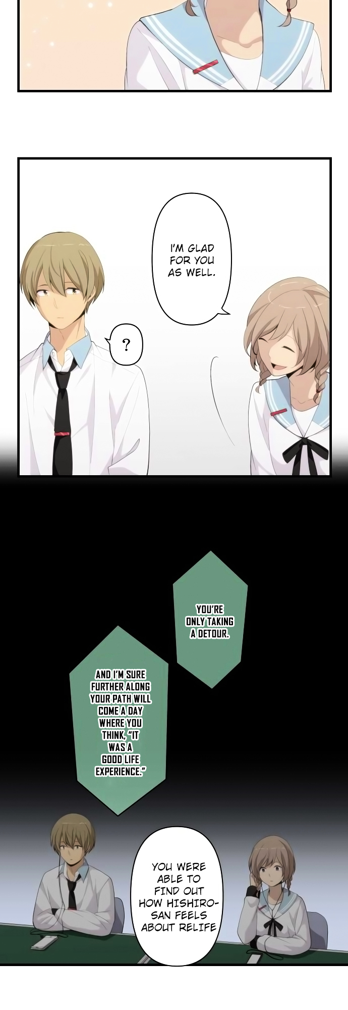 ReLIFE Chapter 172  Online Free Manga Read Image 3