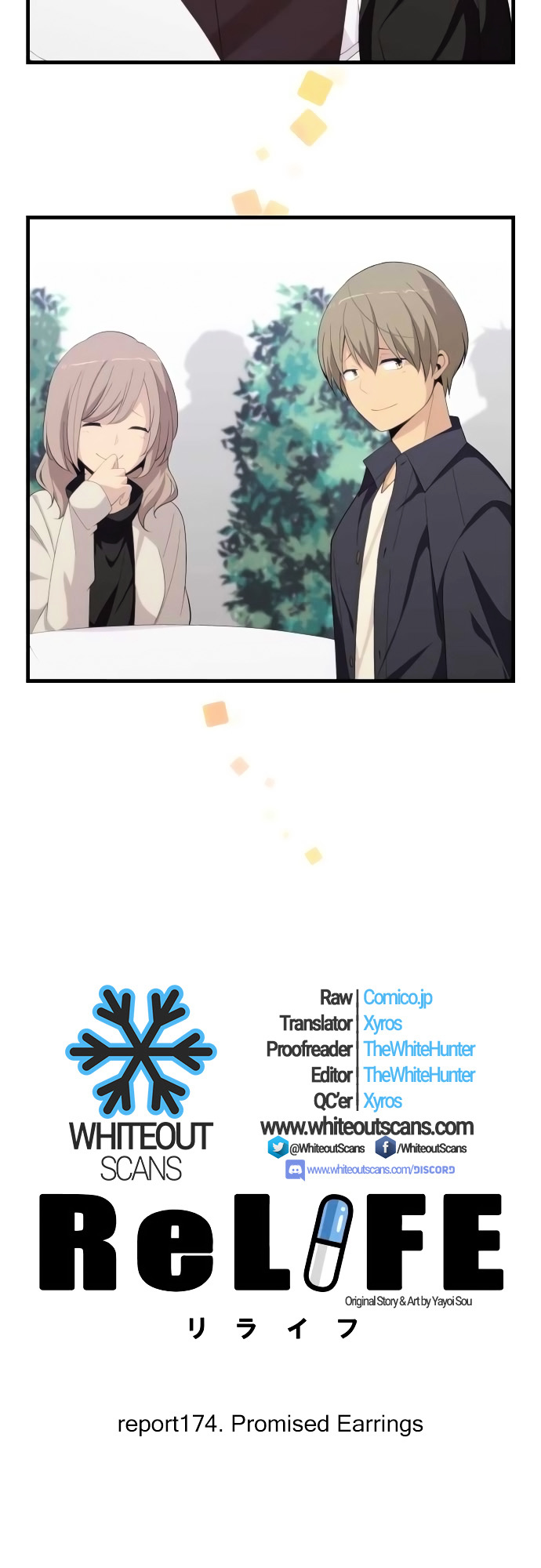 ReLIFE Chapter 174  Online Free Manga Read Image 3