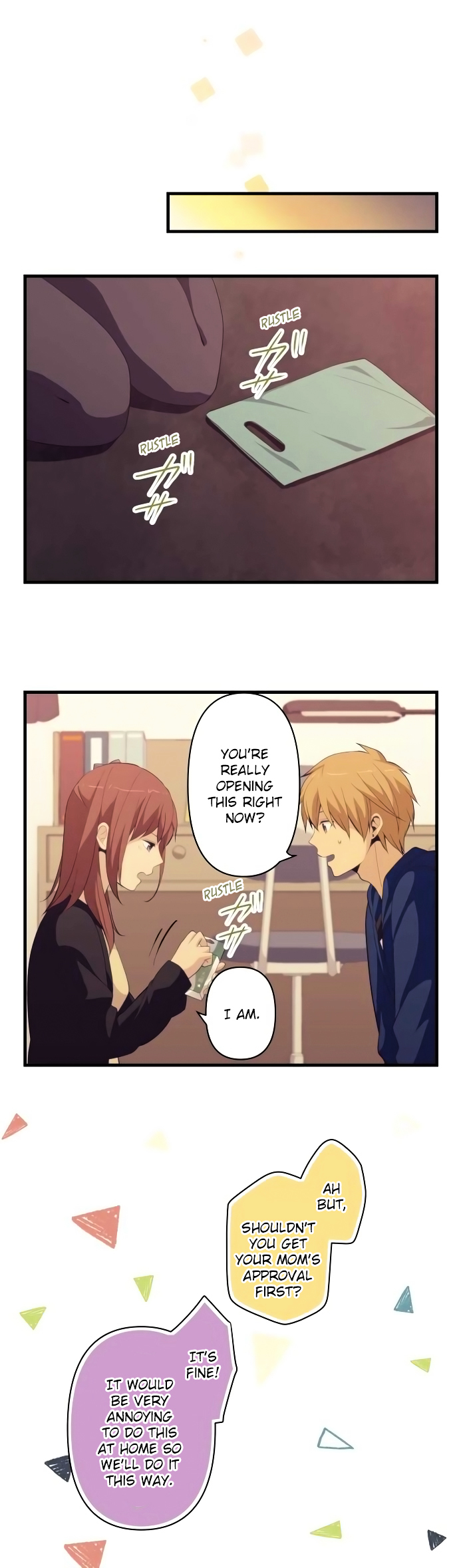 ReLIFE Chapter 177  Online Free Manga Read Image 3