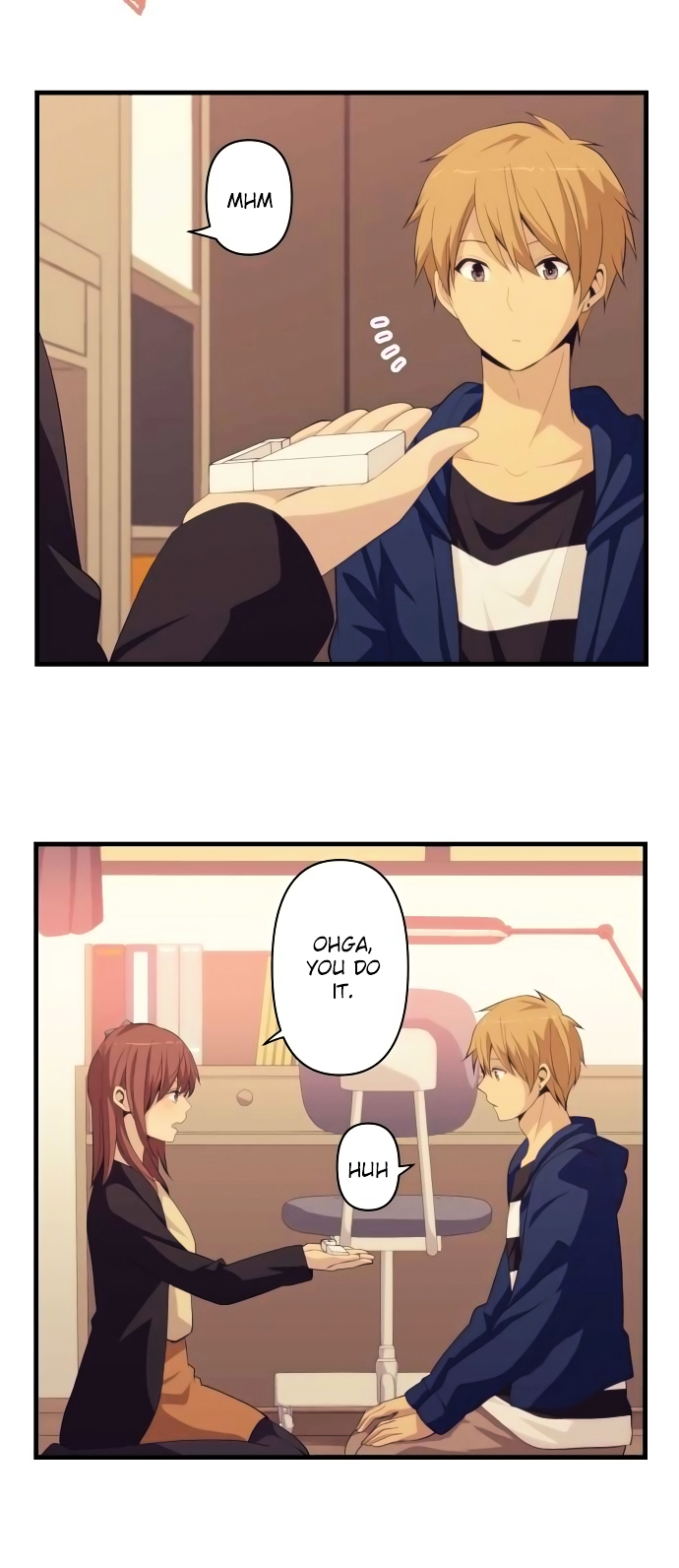 ReLIFE Chapter 177  Online Free Manga Read Image 4