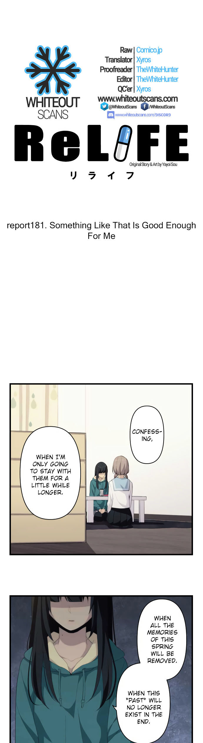 ReLIFE Chapter 181  Online Free Manga Read Image 4