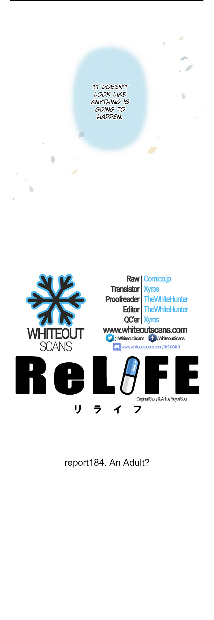 ReLIFE Chapter 184  Online Free Manga Read Image 4