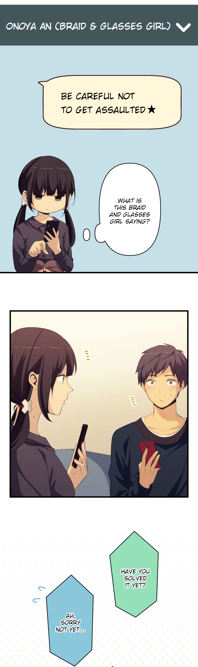 ReLIFE Chapter 184  Online Free Manga Read Image 7