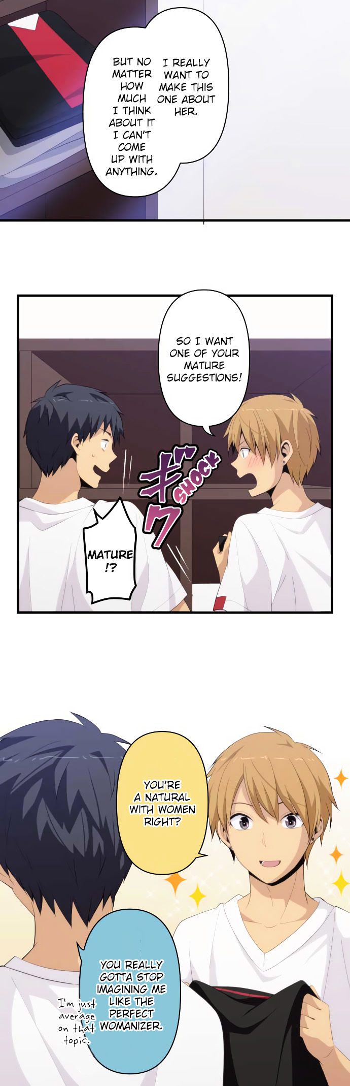 ReLIFE Chapter 189 Online Free Manga Read Image 6