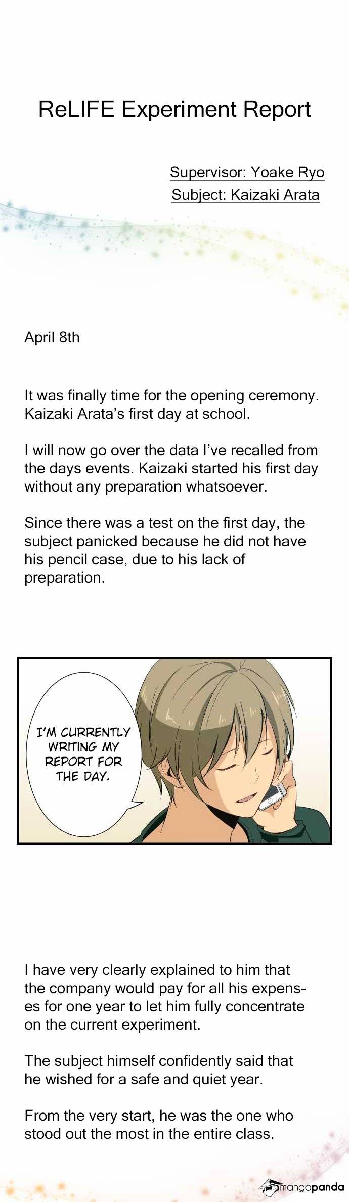 ReLIFE Chapter 19  Online Free Manga Read Image 11