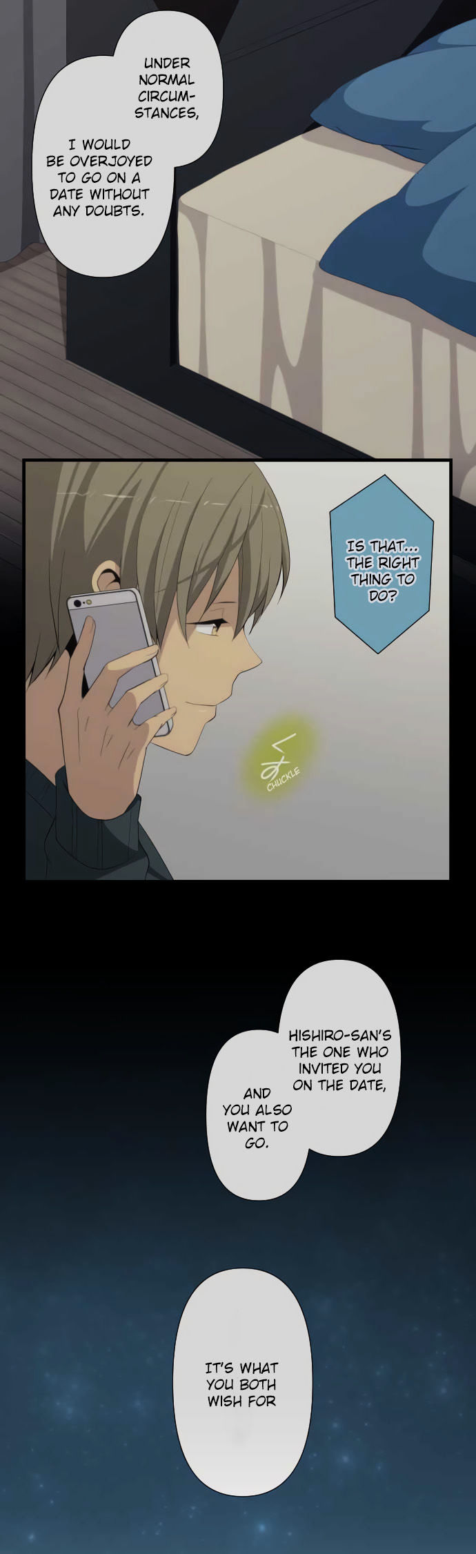 ReLIFE Chapter 193  Online Free Manga Read Image 9