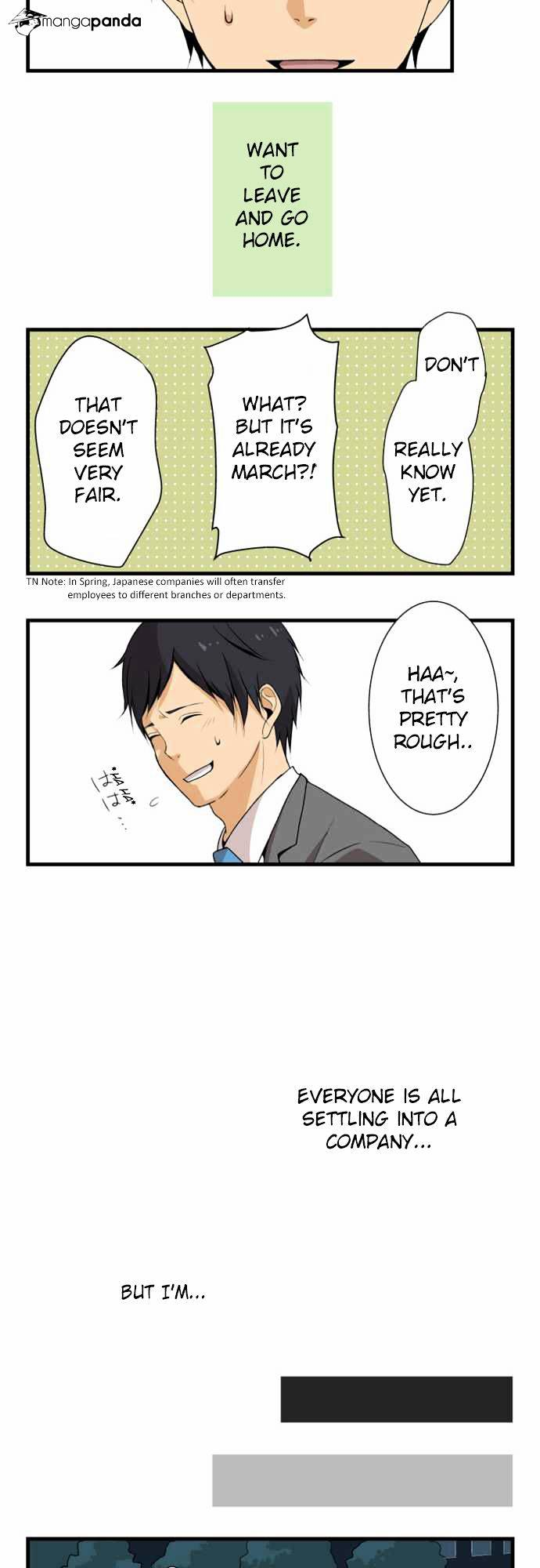 ReLIFE Chapter 2  Online Free Manga Read Image 9