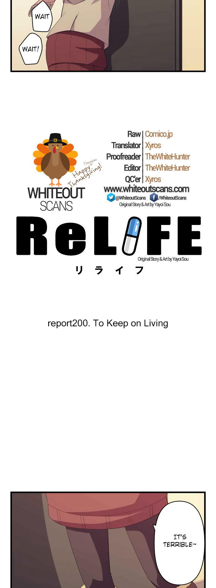 ReLIFE Chapter 200  Online Free Manga Read Image 3