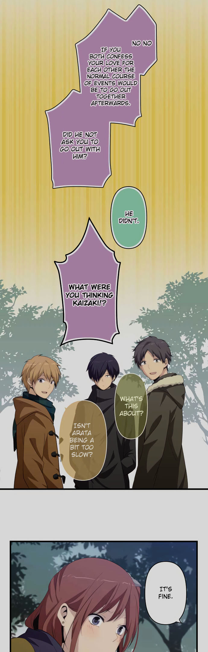 ReLIFE Chapter 201  Online Free Manga Read Image 16