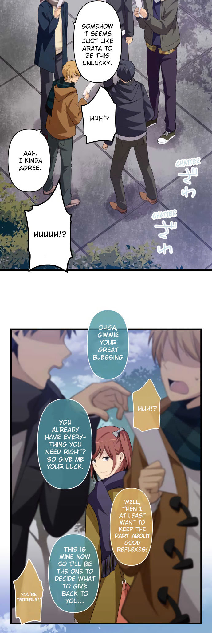 ReLIFE Chapter 202  Online Free Manga Read Image 4