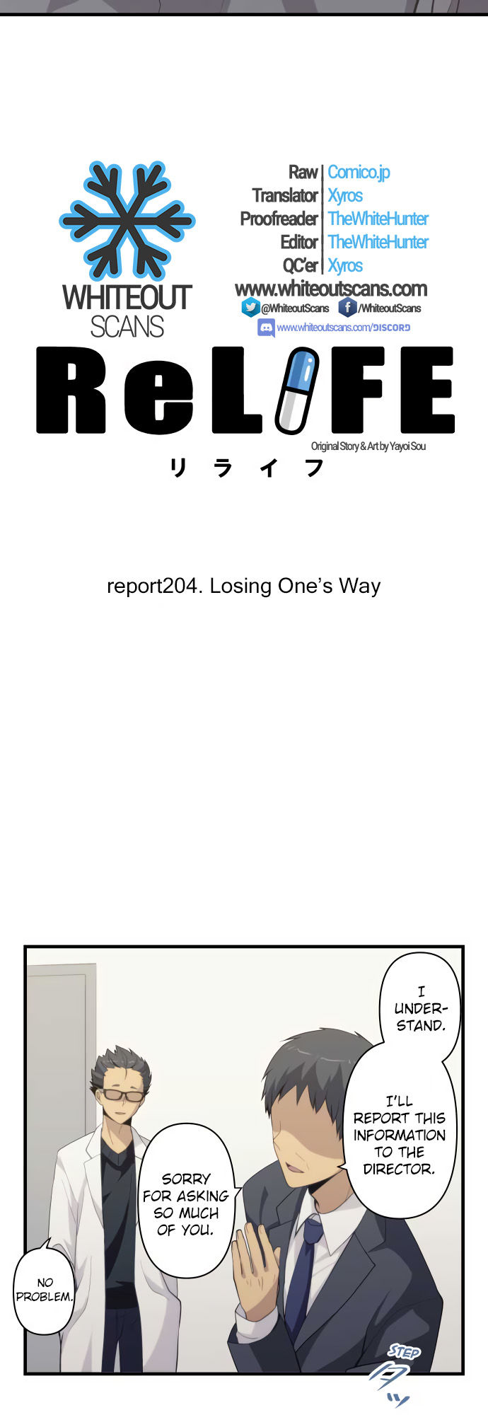 ReLIFE Chapter 204  Online Free Manga Read Image 3