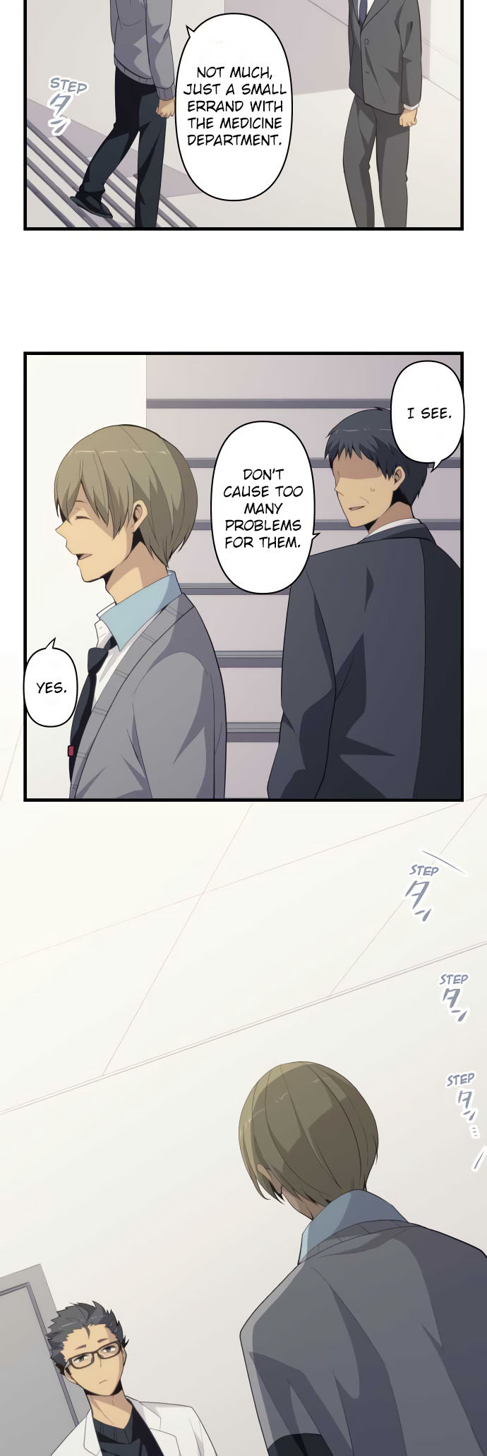 ReLIFE Chapter 204  Online Free Manga Read Image 6