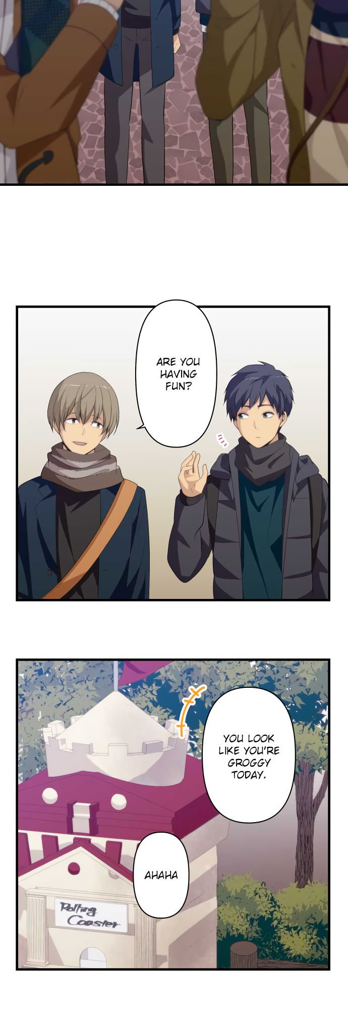ReLIFE Chapter 207  Online Free Manga Read Image 17
