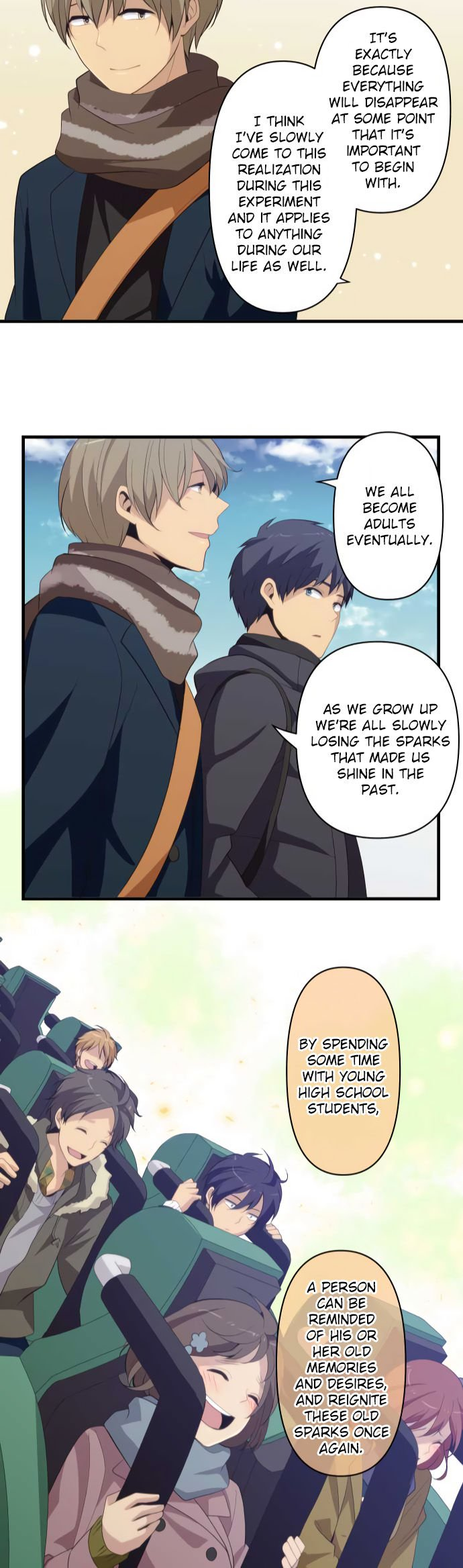 ReLIFE Chapter 207  Online Free Manga Read Image 22
