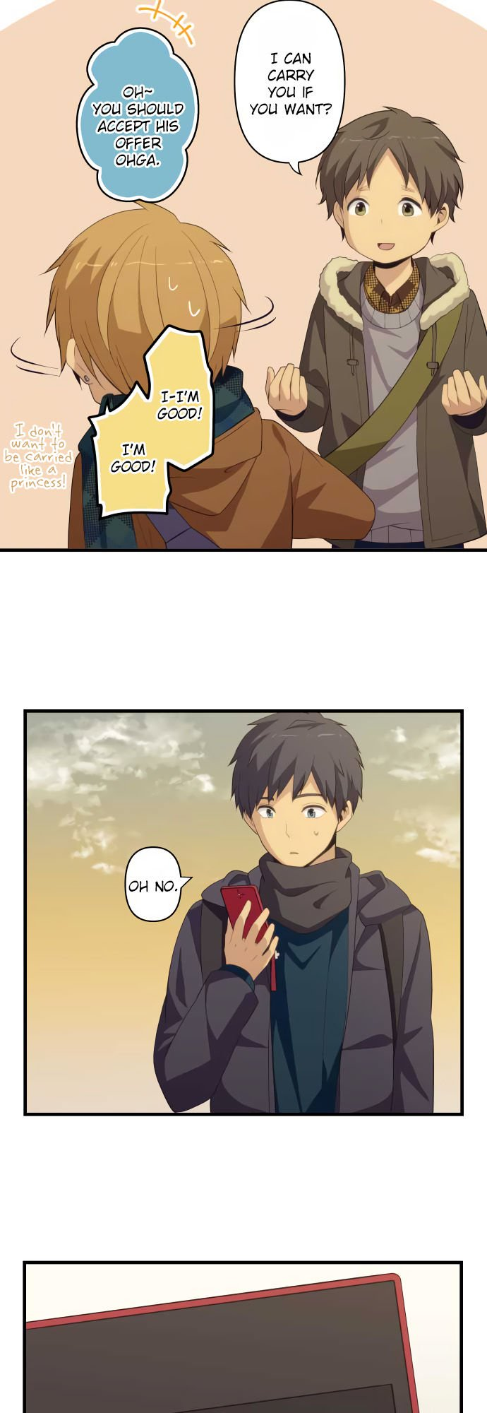 ReLIFE Chapter 208  Online Free Manga Read Image 16