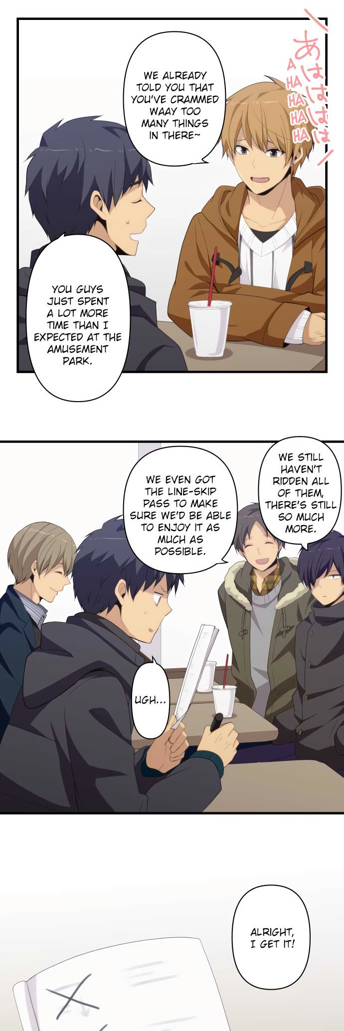 ReLIFE Chapter 208  Online Free Manga Read Image 7