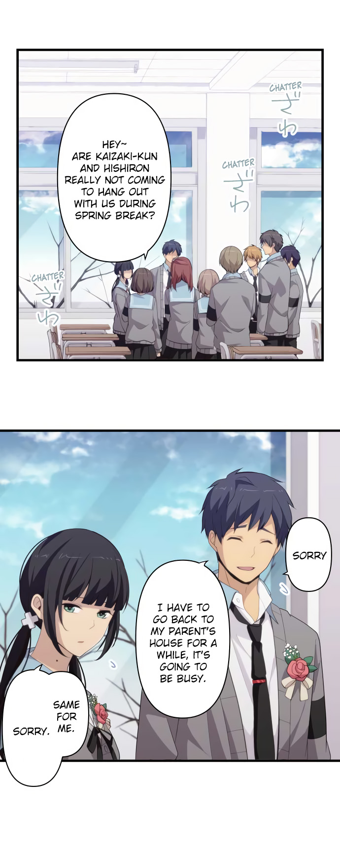 ReLIFE Chapter 211  Online Free Manga Read Image 10