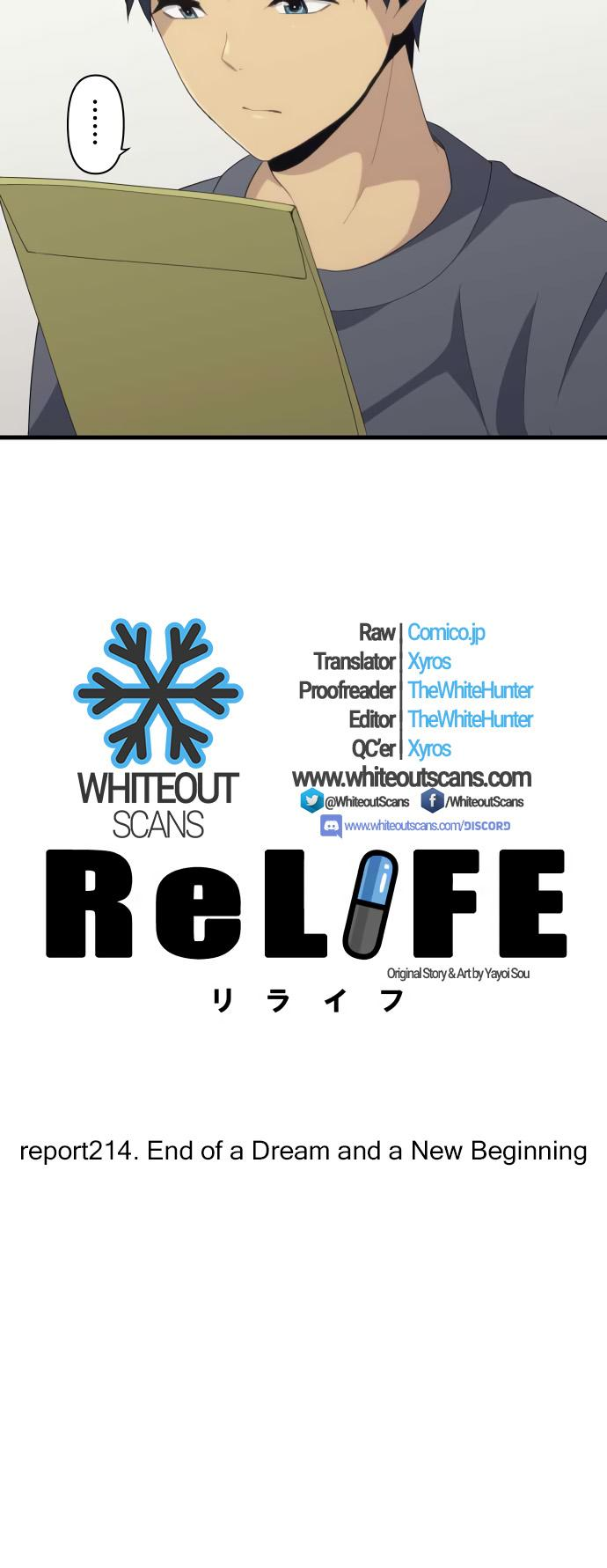 ReLIFE Chapter 214  Online Free Manga Read Image 3