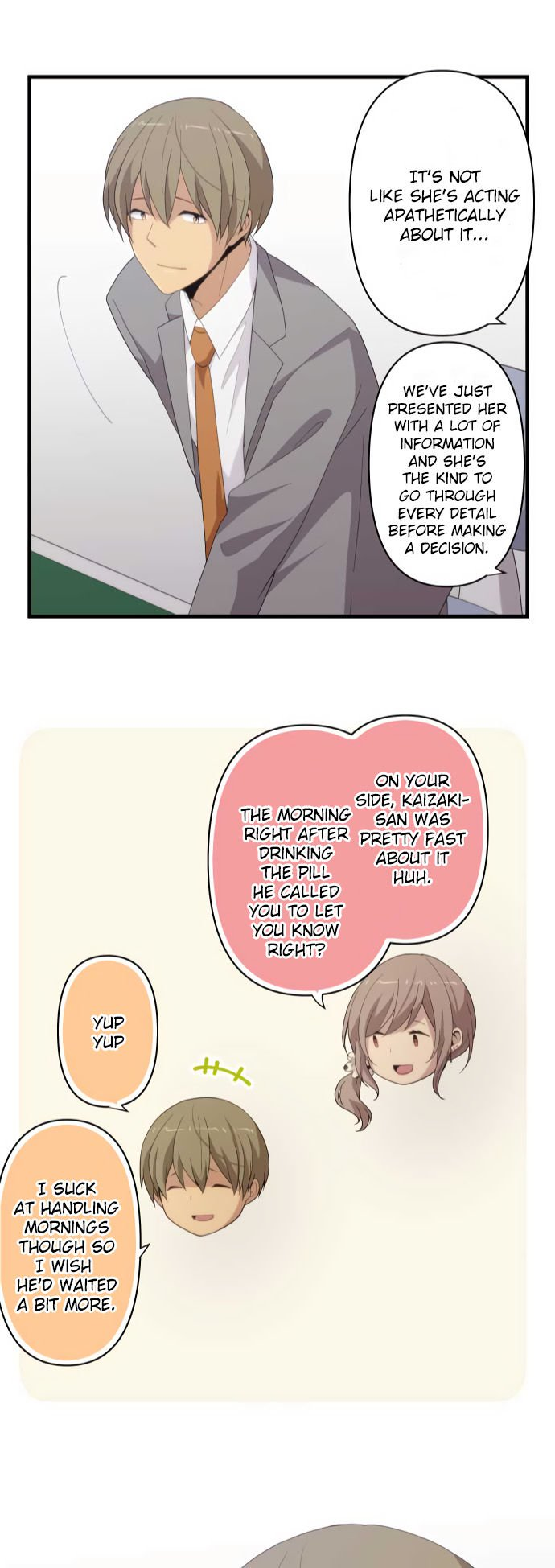 ReLIFE Chapter 216  Online Free Manga Read Image 24