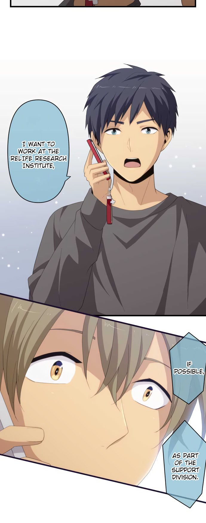 ReLIFE Chapter 217  Online Free Manga Read Image 4