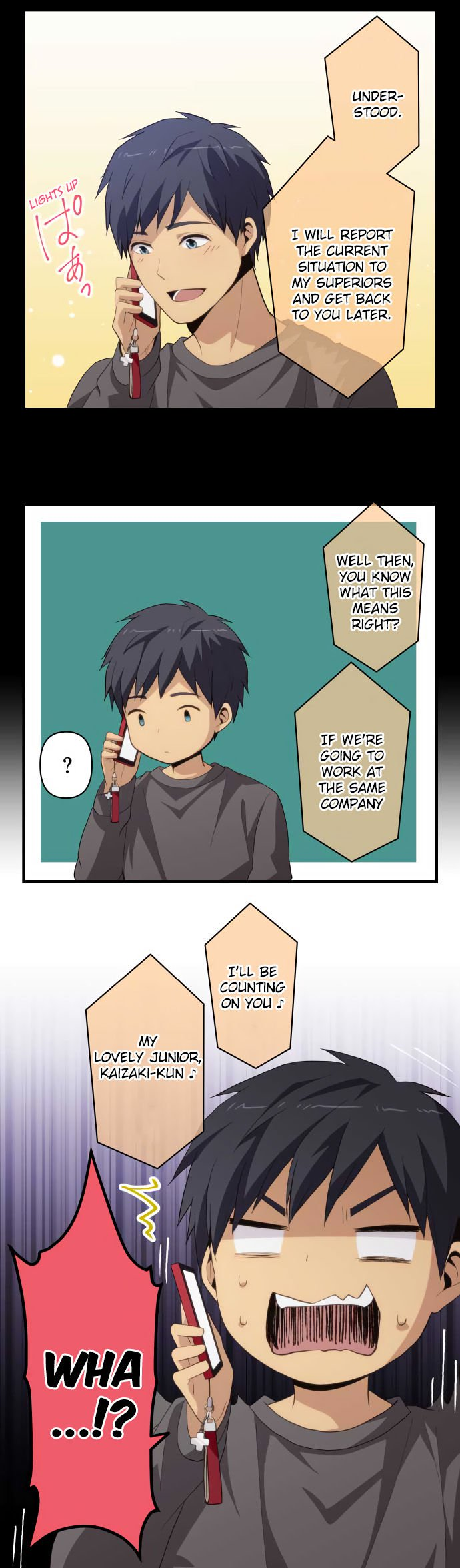 ReLIFE Chapter 217  Online Free Manga Read Image 9