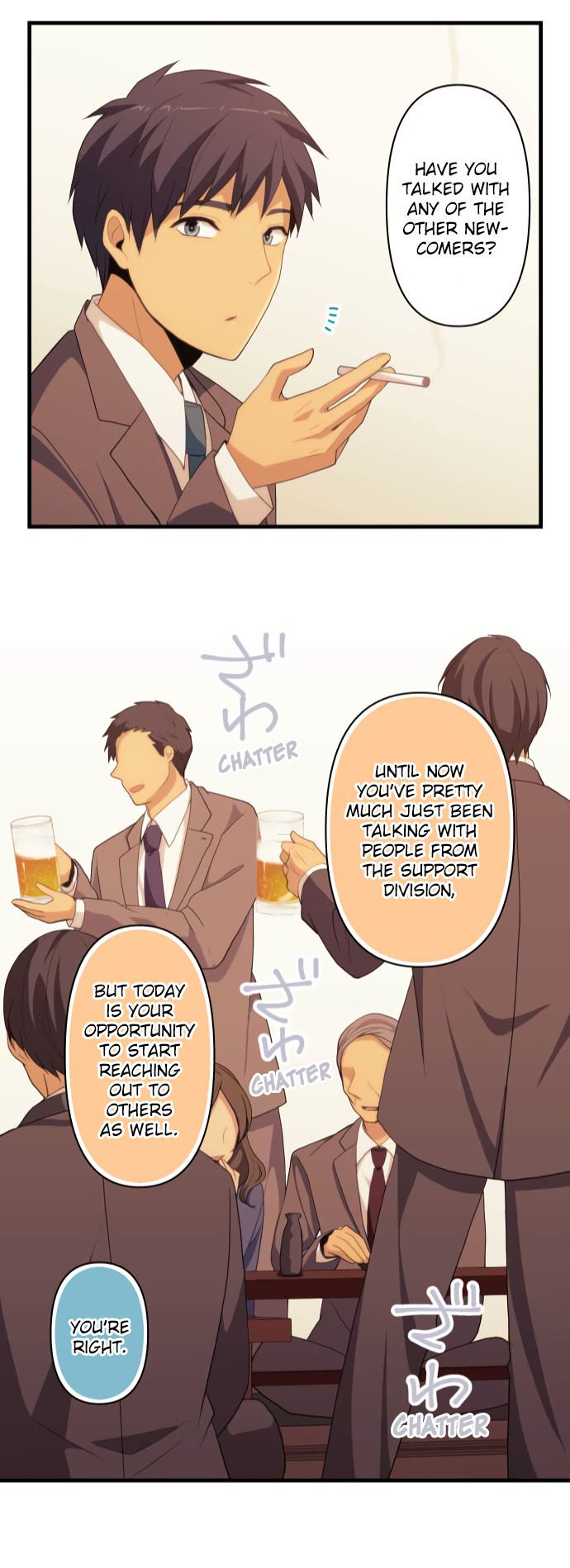 ReLIFE Chapter 218  Online Free Manga Read Image 23