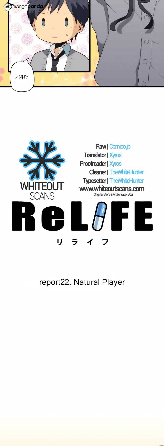 ReLIFE Chapter 22  Online Free Manga Read Image 3