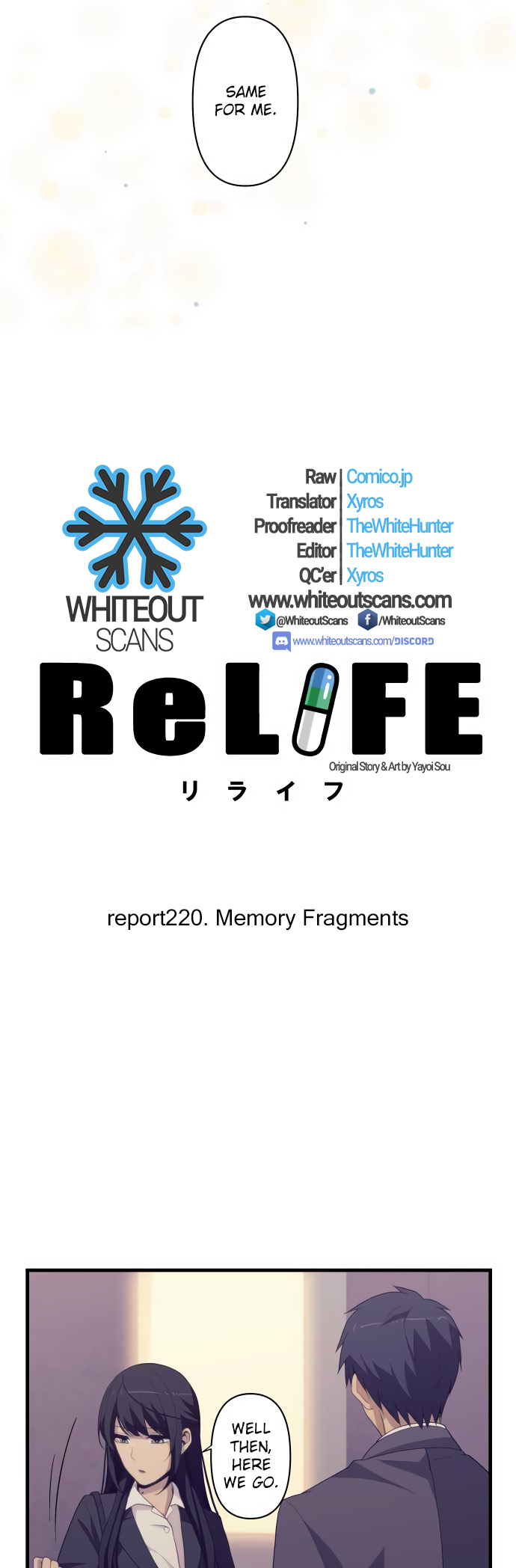 ReLIFE Chapter 220  Online Free Manga Read Image 4