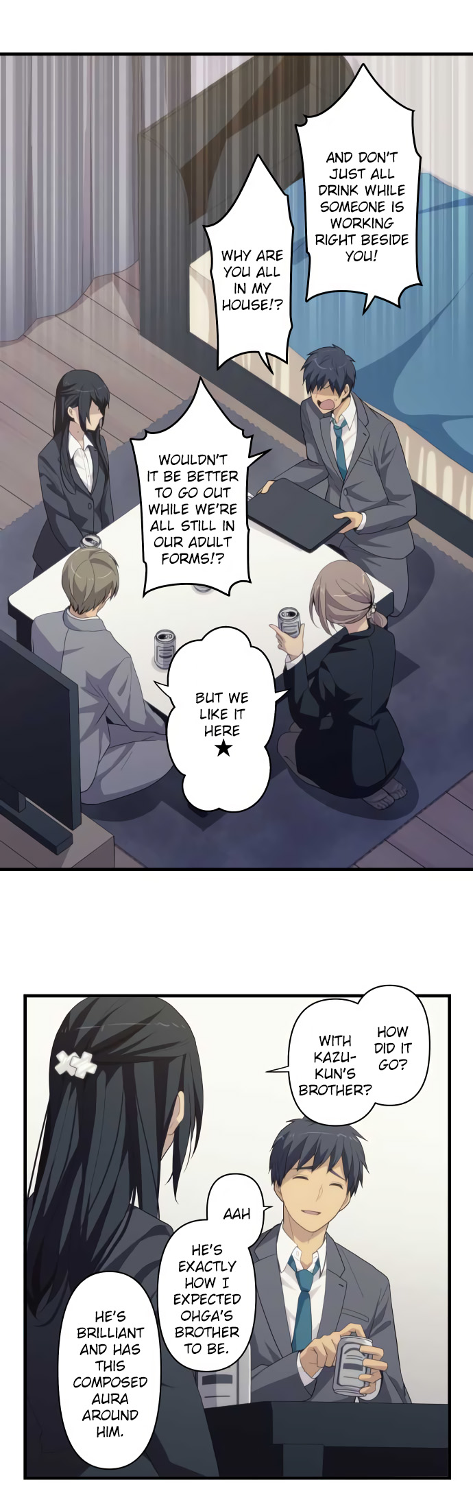 ReLIFE Chapter 222  Online Free Manga Read Image 31