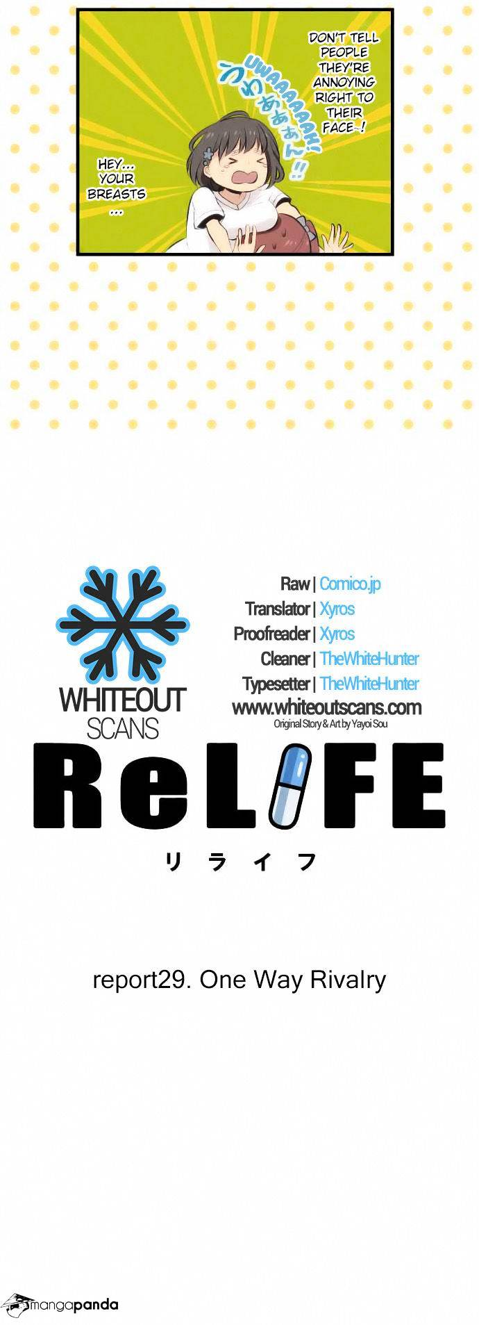 ReLIFE Chapter 29  Online Free Manga Read Image 3