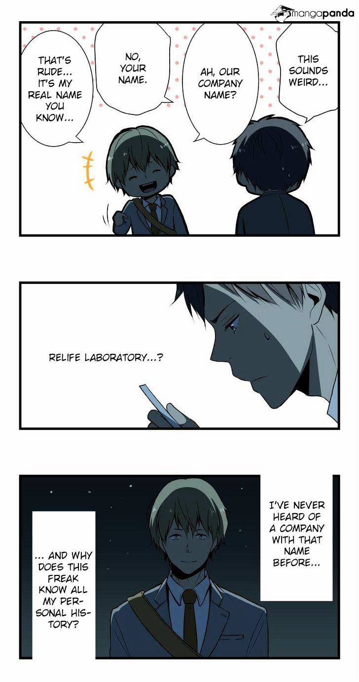 ReLIFE Chapter 3  Online Free Manga Read Image 4