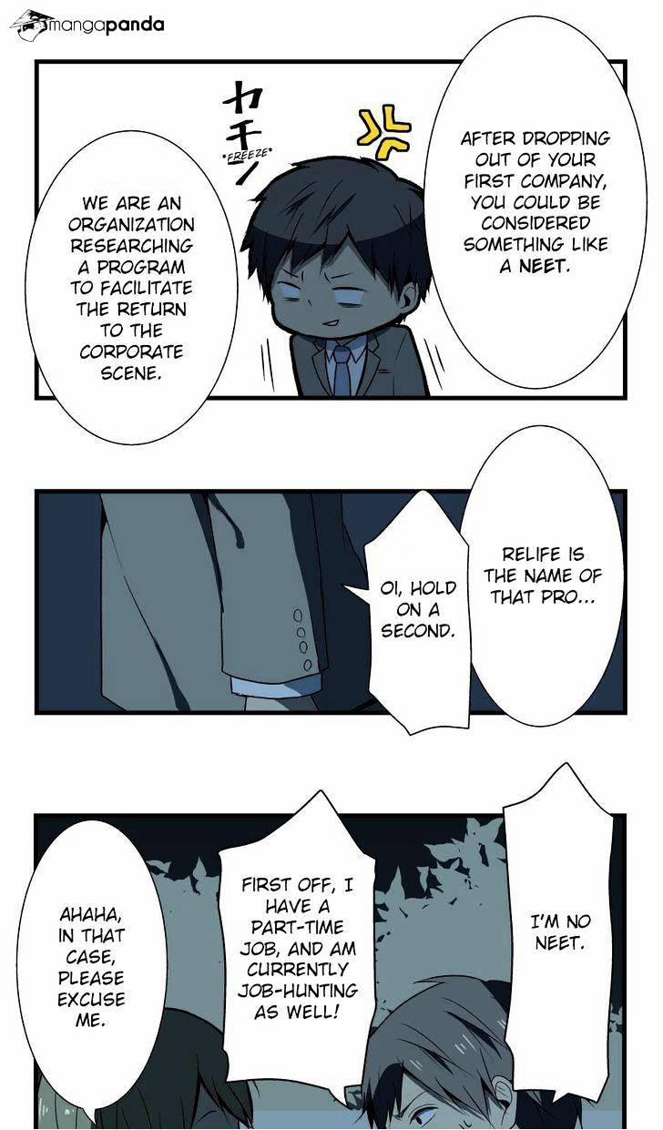 ReLIFE Chapter 3  Online Free Manga Read Image 6