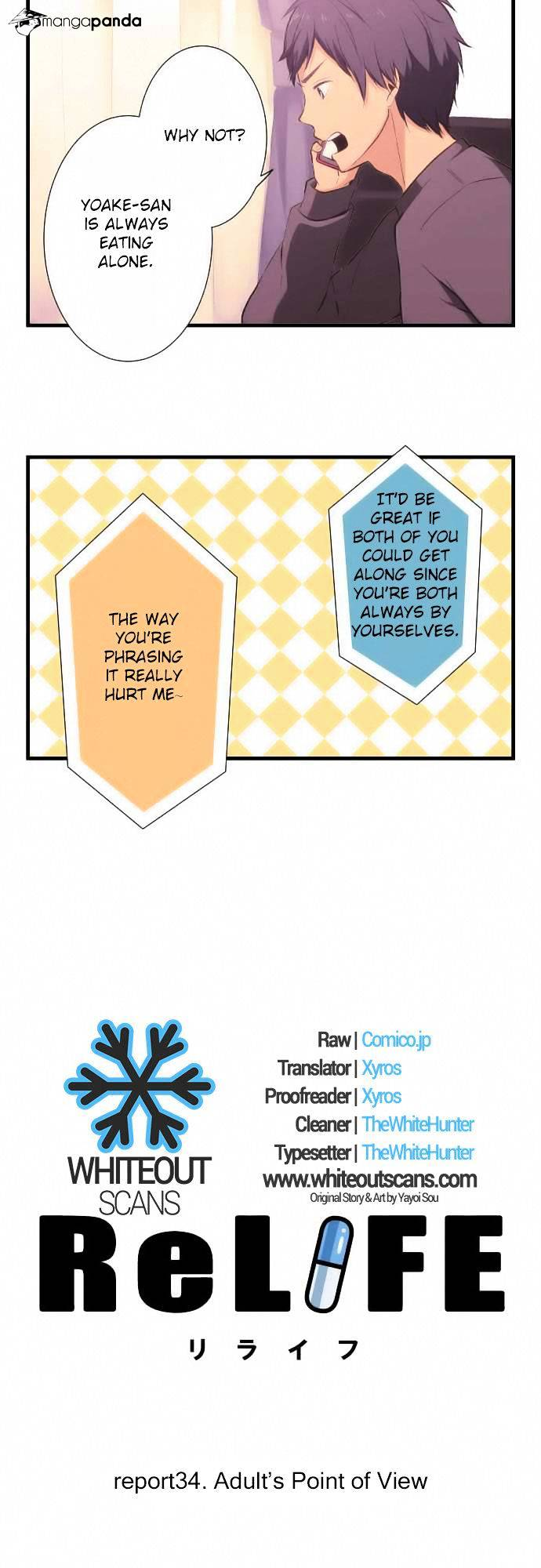 ReLIFE Chapter 34  Online Free Manga Read Image 2