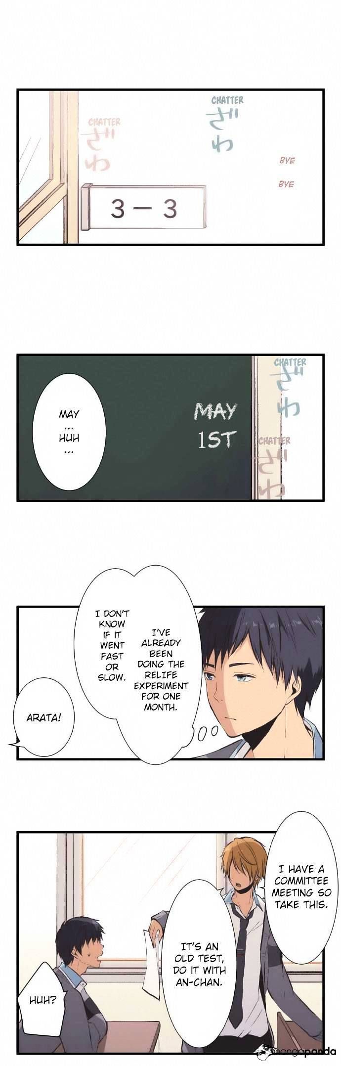 ReLIFE Chapter 35  Online Free Manga Read Image 1