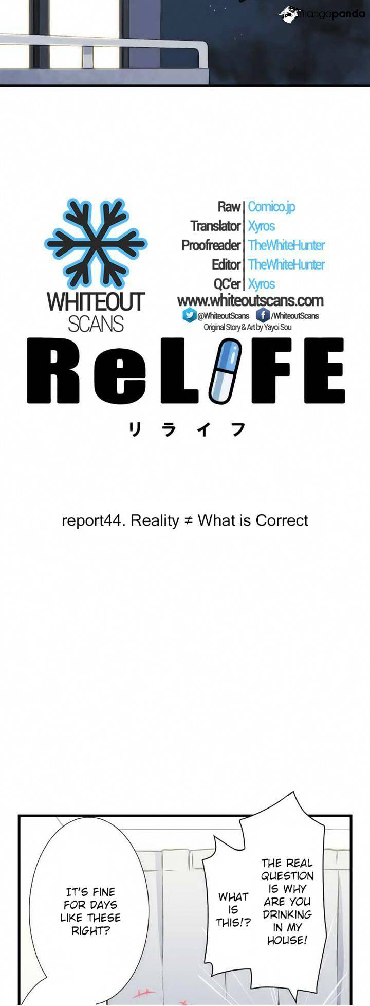 ReLIFE Chapter 44  Online Free Manga Read Image 3