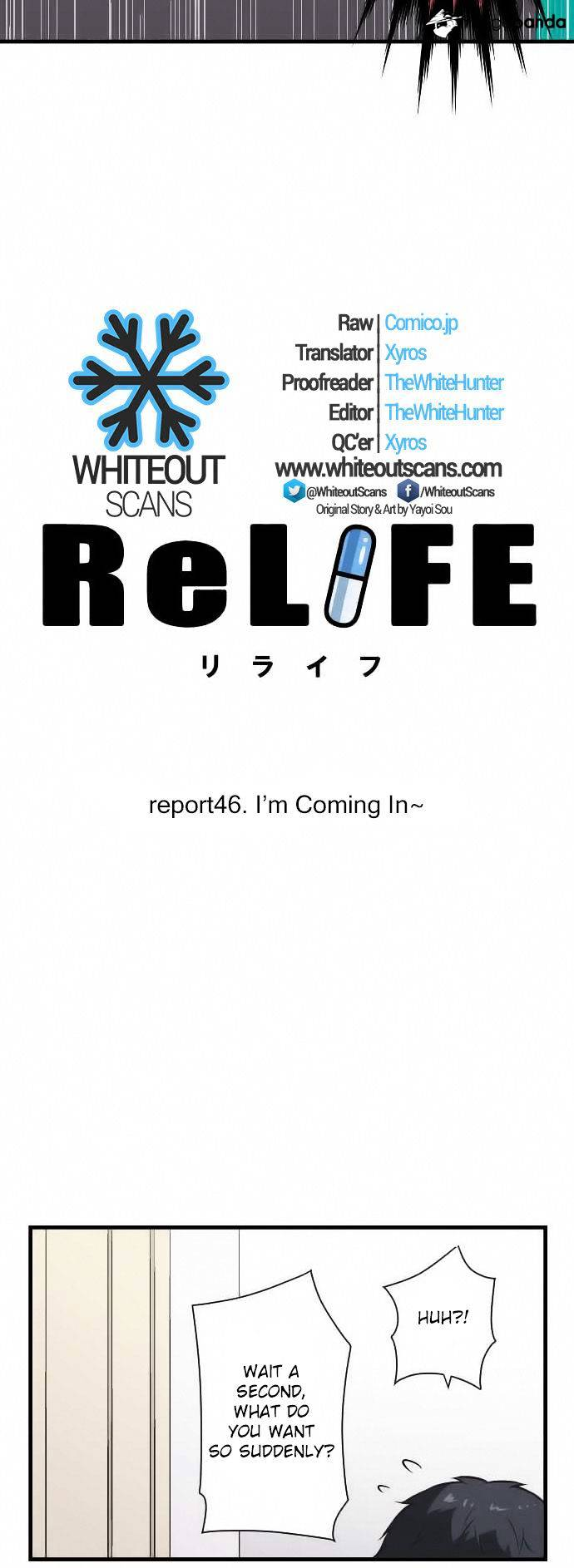 ReLIFE Chapter 46  Online Free Manga Read Image 2
