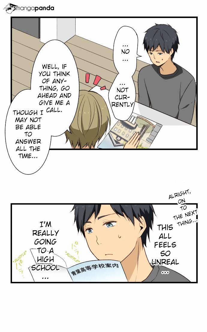 ReLIFE Chapter 5  Online Free Manga Read Image 8