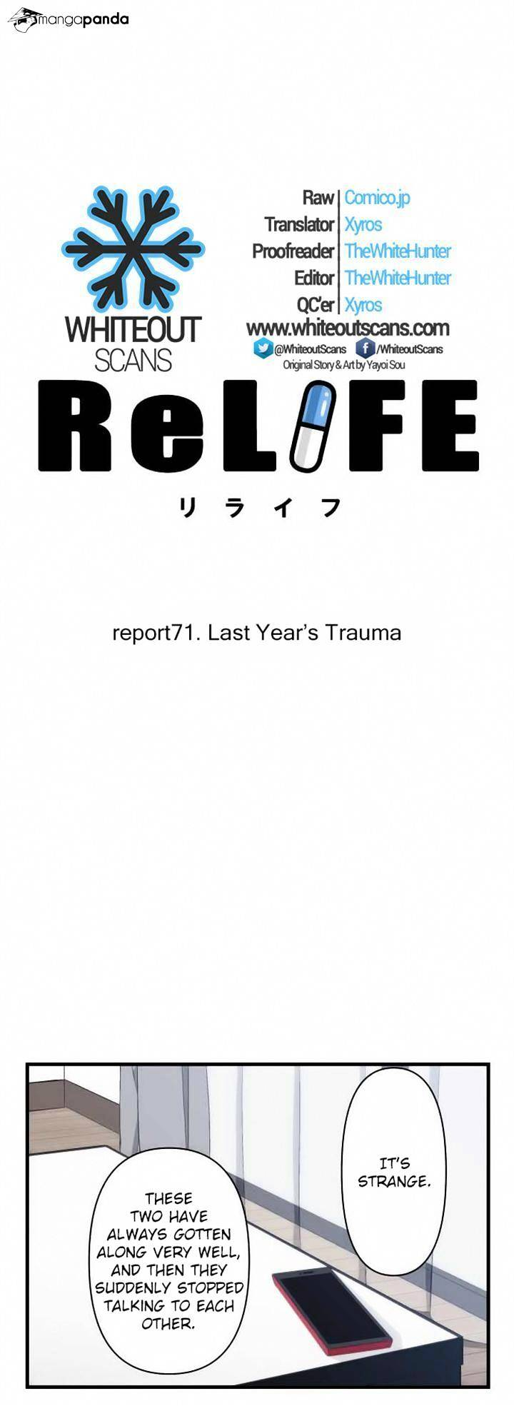 ReLIFE Chapter 71  Online Free Manga Read Image 2