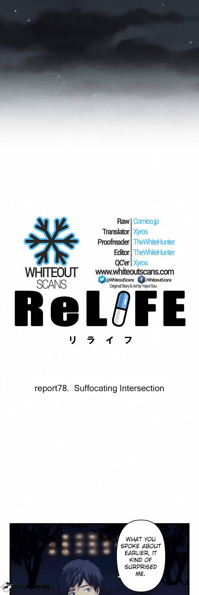 ReLIFE Chapter 78  Online Free Manga Read Image 3